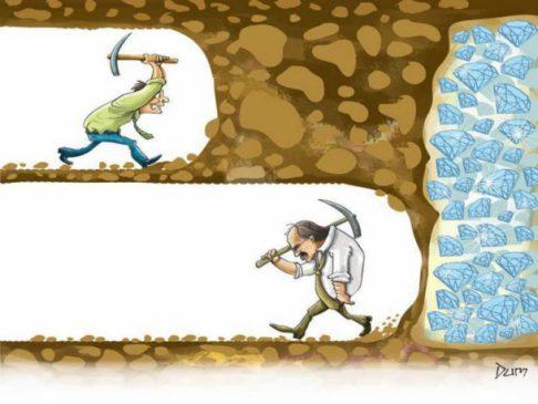 یک اصل مهم موفقیت(پشتکار در راه رسیدن به هدف)