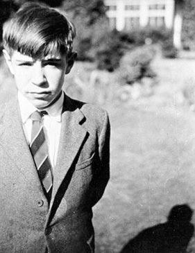 استیون هاوکینگ در کودکی