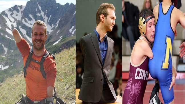 سه معلول موفق و معروف دنیا را بشناسید